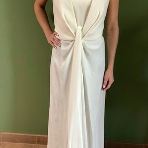 Giorgio Armani white gown NWT. Made in Italy